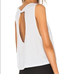NAT Beyond Yoga Aquarius Twisted Tank